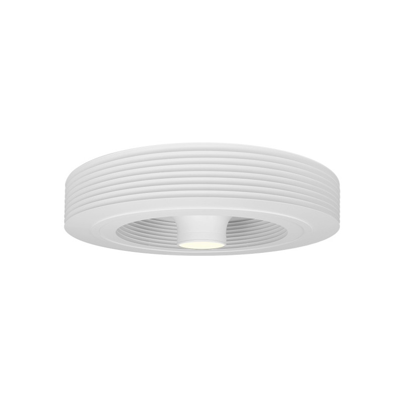 Exhale Fan White With LED 3K
