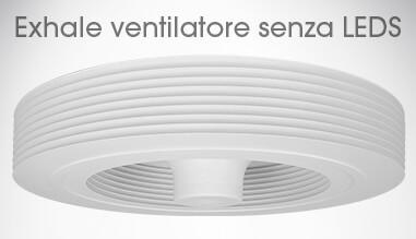 ventilatore da soffitto senza pale   ventilatore exhale europe