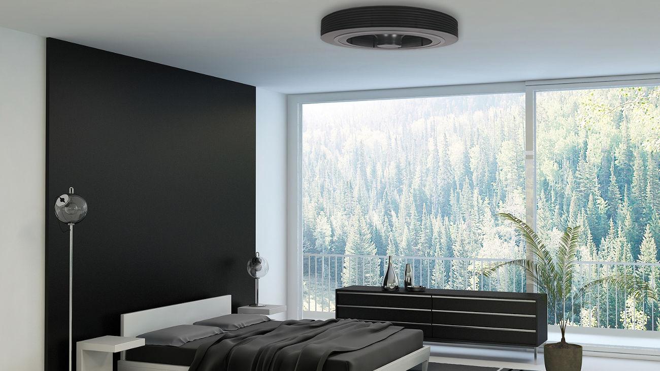 ventilateur exhale pour l'hiver