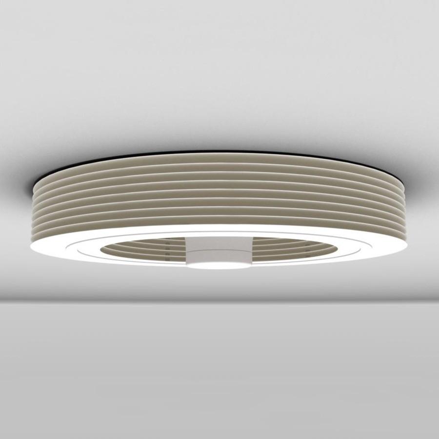 Ventilateur Exhale de plafond sans pales blanc