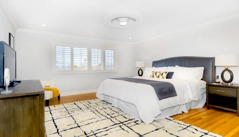 Il ventilatore da soffitto senza pale