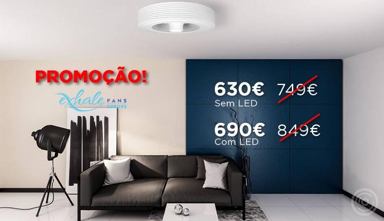 Exhale Promo 2018 Ventilador de teto