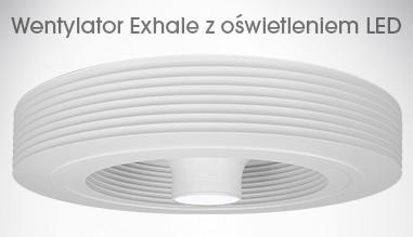 Wentylator Exhale z oświetleniem LED