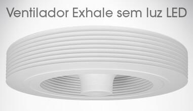Ventilador Exhale de teto Branco