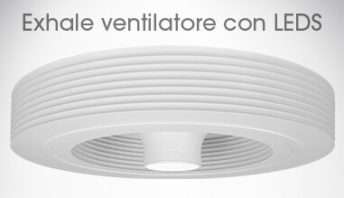 Ventilatore da soffitto senza pale ventilatore exhale europe exhale europe shop - Pale da soffitto design ...